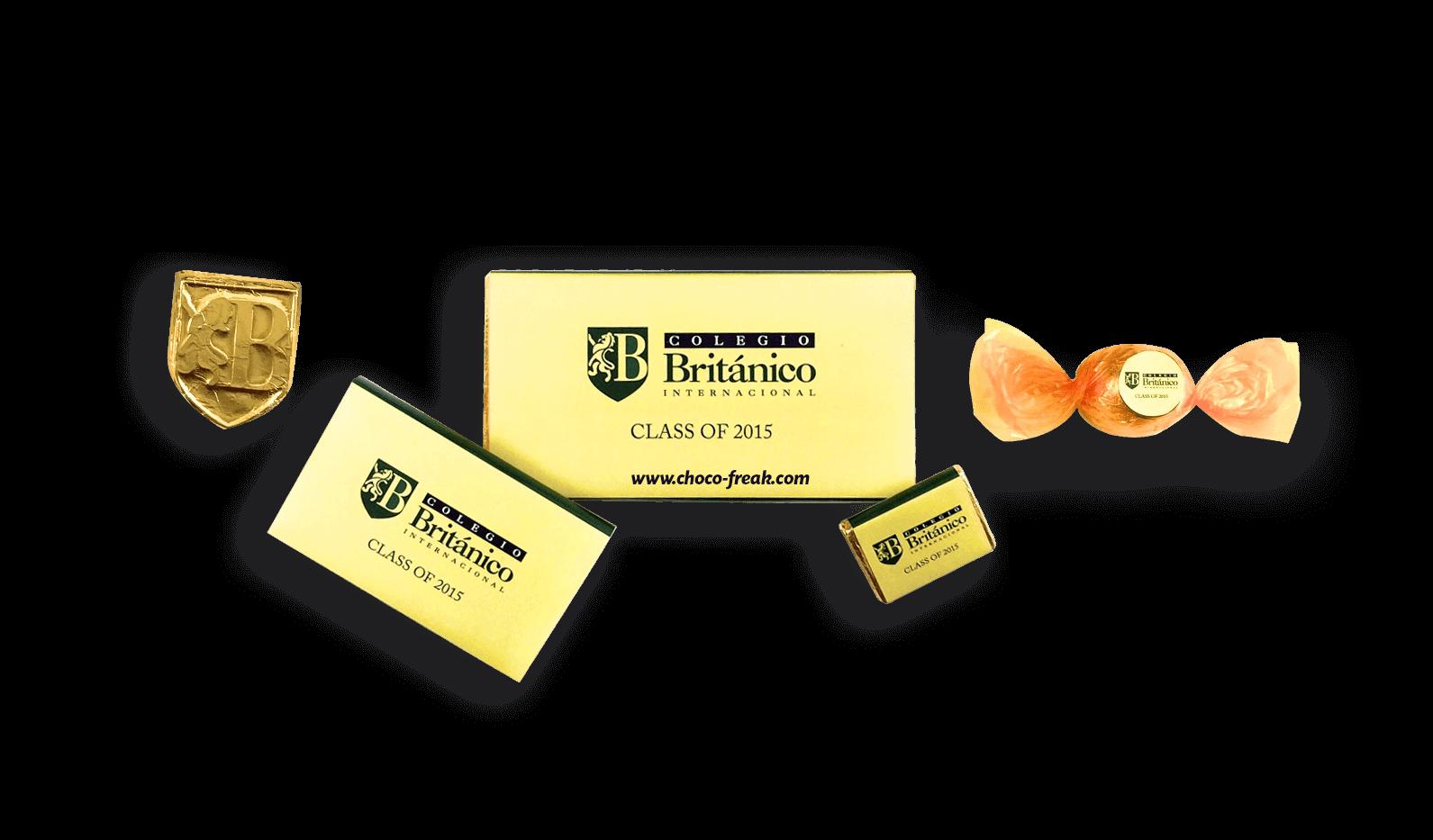 Chocolates Personalizados recuerdos de graduación originales Ecuador Quito Guayaquil Cuenca Manta