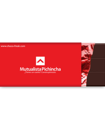 Promocionales en Ecuador barra de chocolate personalizada grande