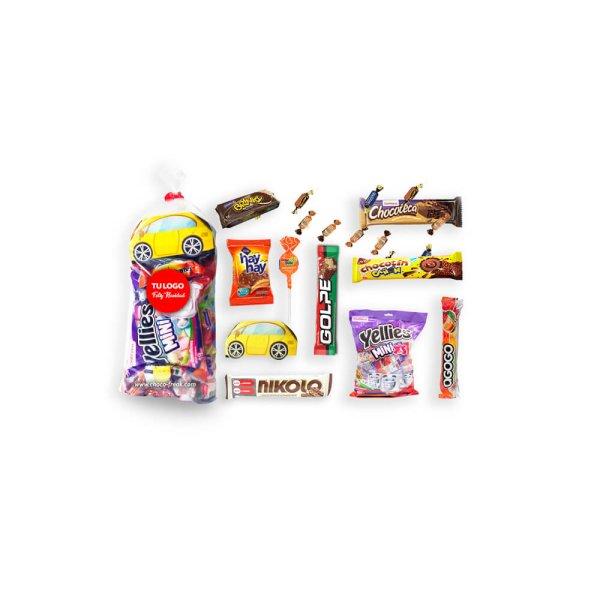 Funda de caramelos navideña economica