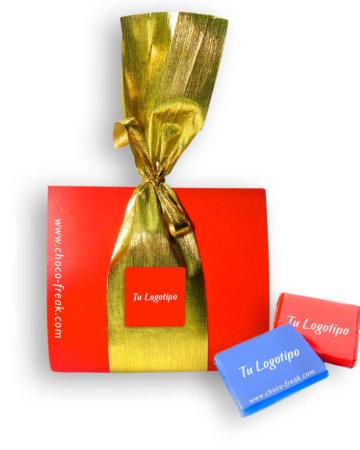 Gift bag con chocolates obsequios corporativos ecuador