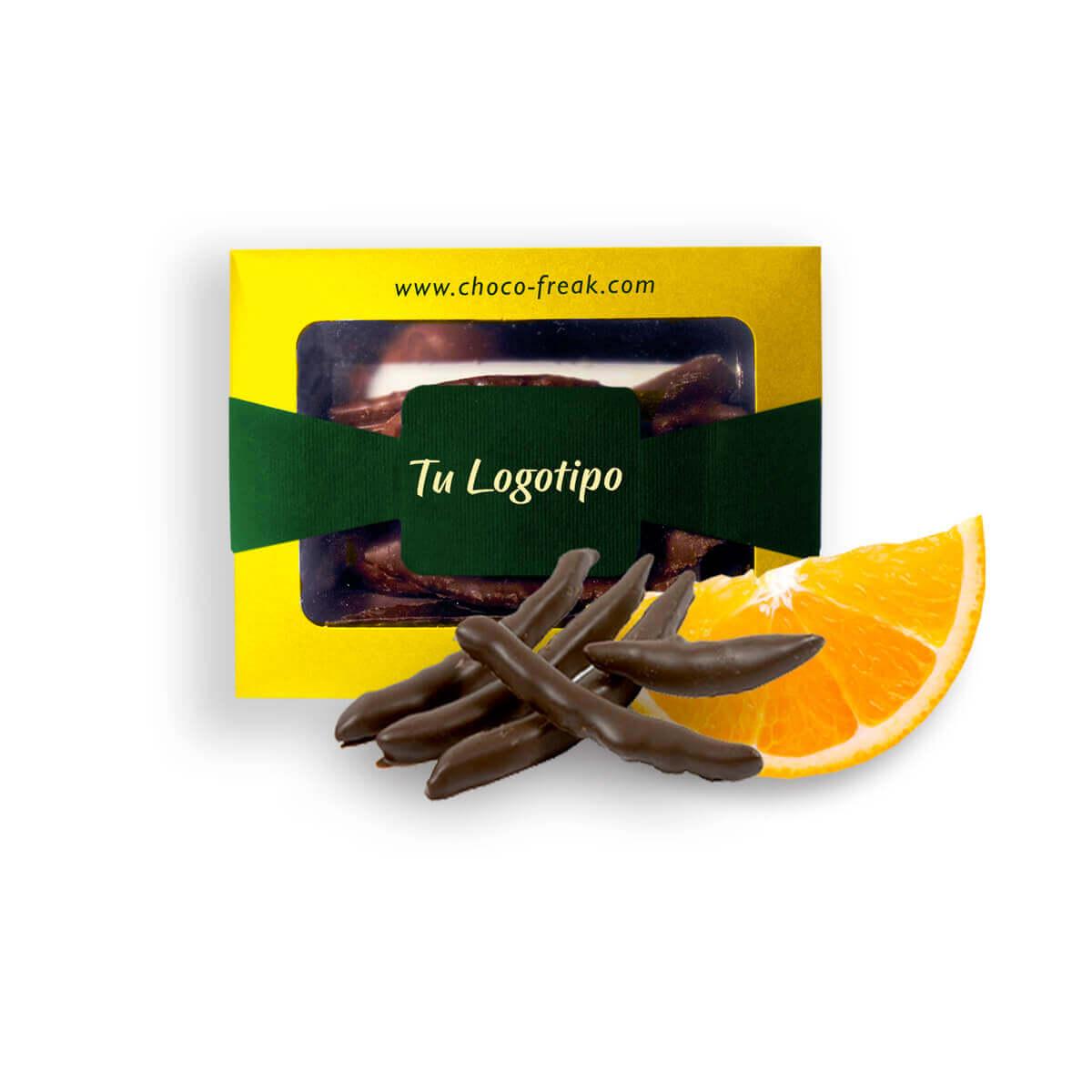 cascaras de naranja chocolate orangettes regalos empresariales ecuador