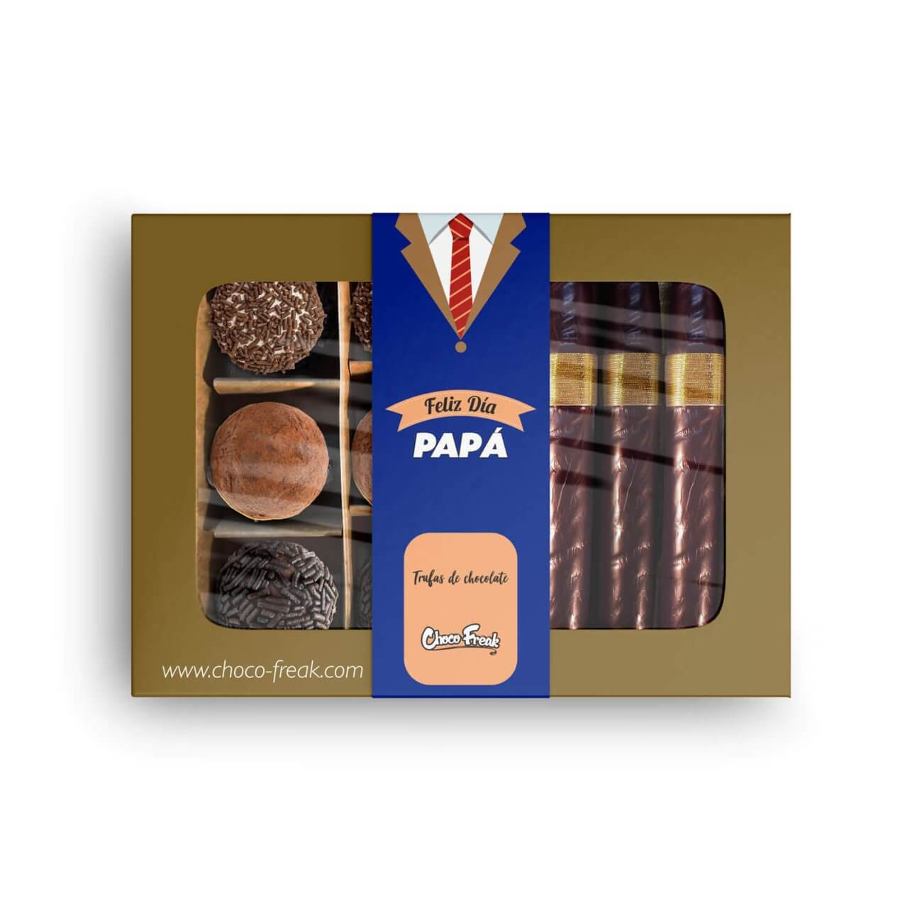 Habanos de chocolate regalos a domicilio día del padre Quito Guayaquil Ecuador
